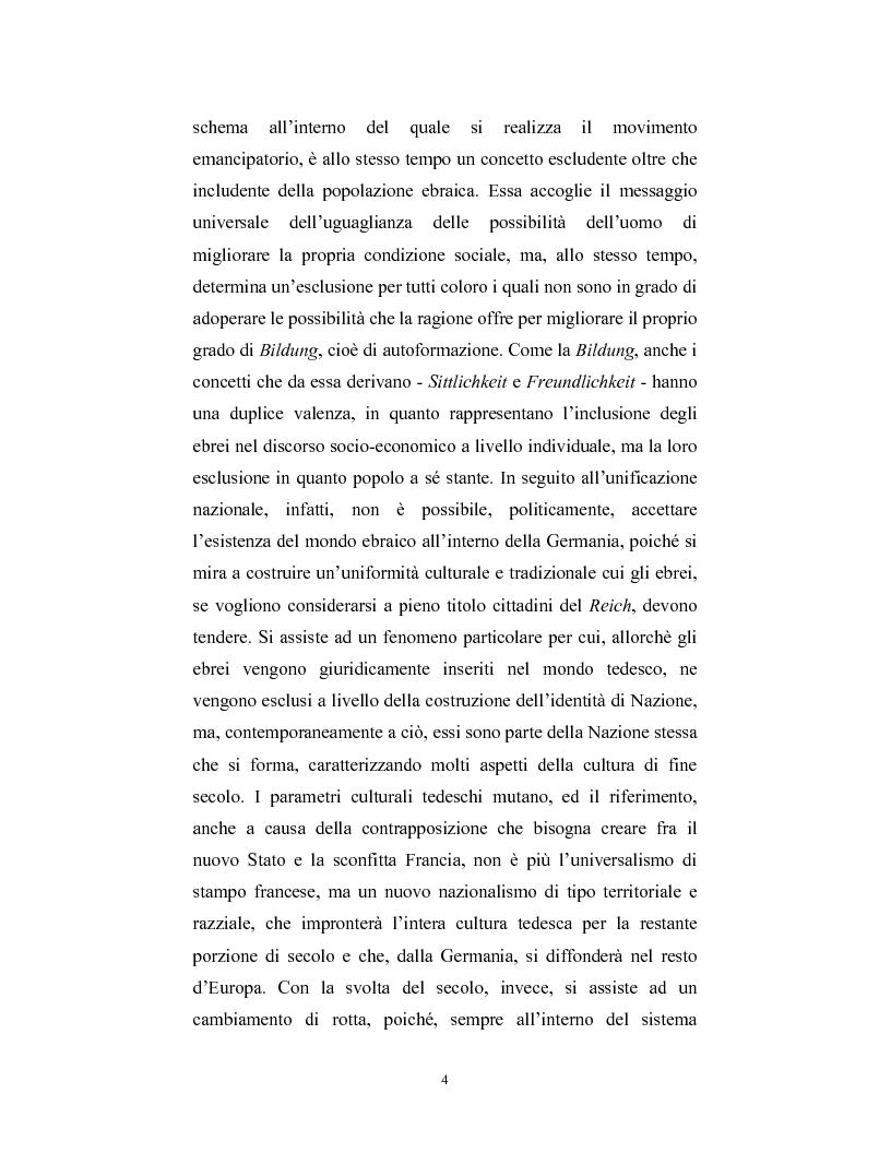 Anteprima della tesi: Ebraismi dell'Europa centrale: emancipazione politica e simbiosi intellettuale, Pagina 3