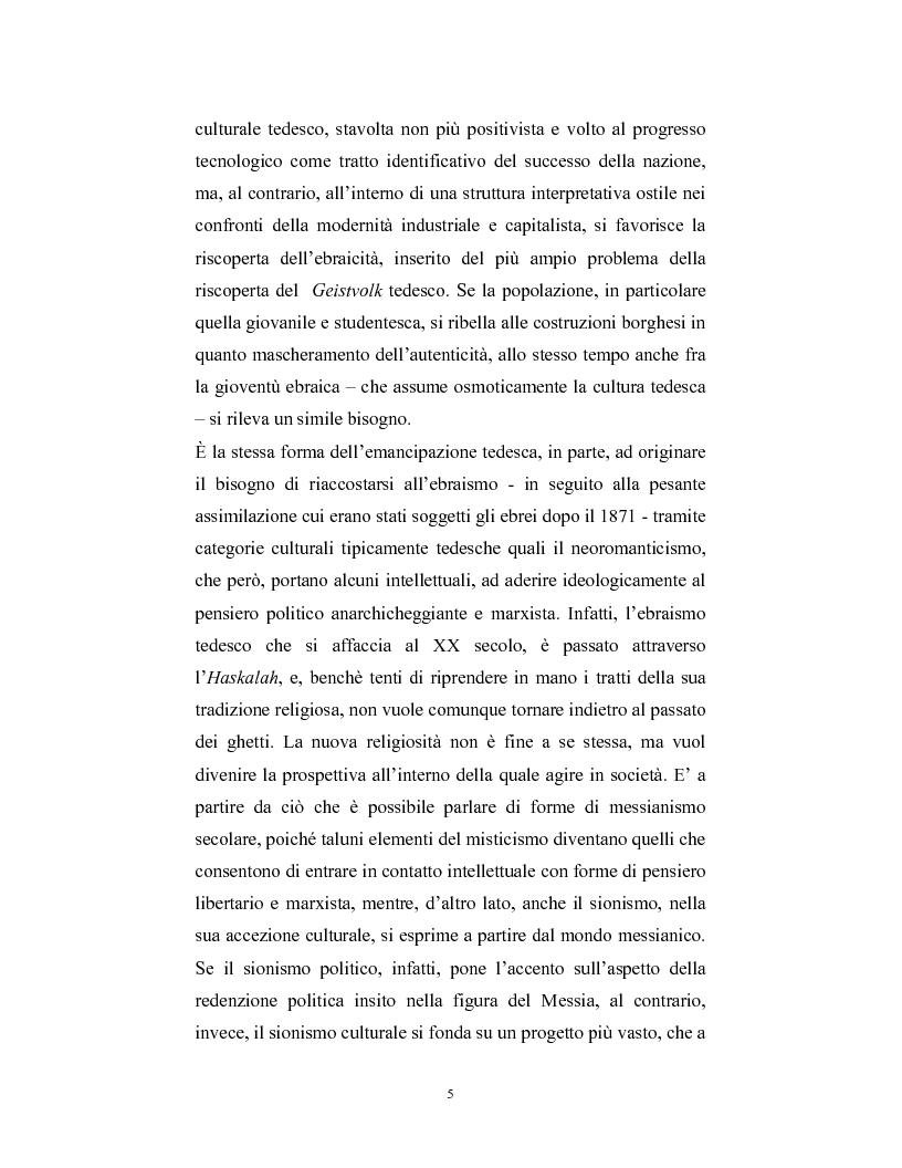 Anteprima della tesi: Ebraismi dell'Europa centrale: emancipazione politica e simbiosi intellettuale, Pagina 4