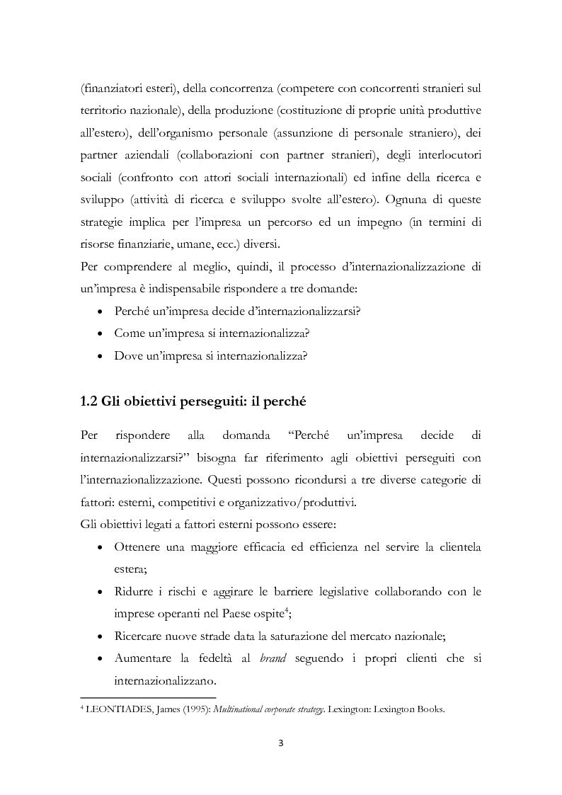 Anteprima della tesi: L'internazionalizzazione delle PMI familiari: il caso MVM, Pagina 4