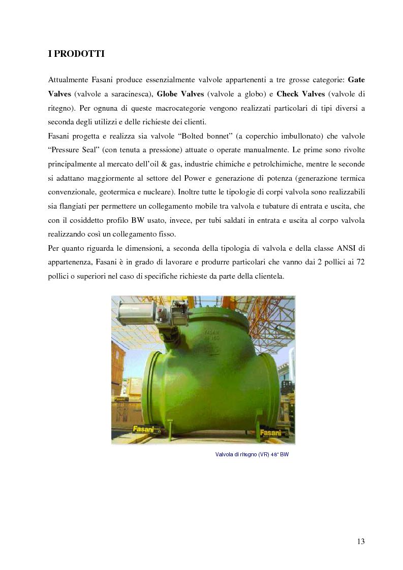 Anteprima della tesi: Analisi dei flussi e degli spazi per lo studio di re-layout di una azienda produttrice di valvole, Pagina 10