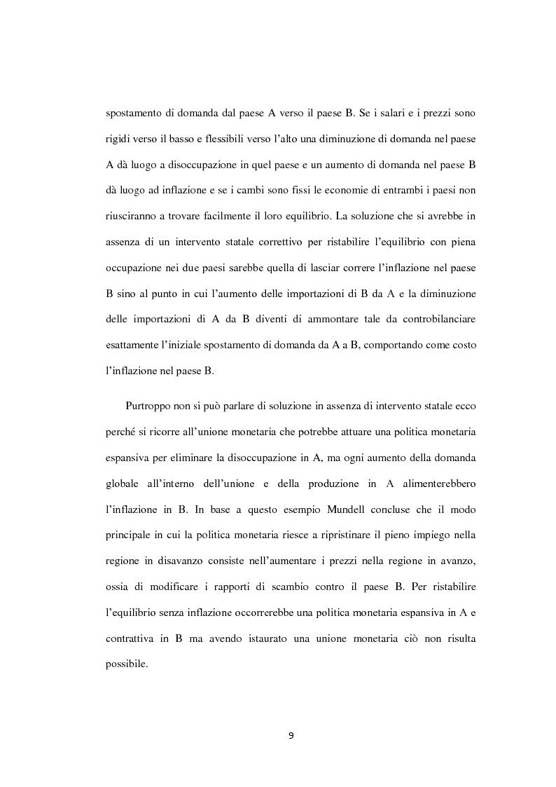 Anteprima della tesi: Costi e Benefici di una Valuta Internazionale, Pagina 5