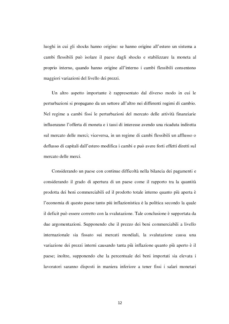 Anteprima della tesi: Costi e Benefici di una Valuta Internazionale, Pagina 8