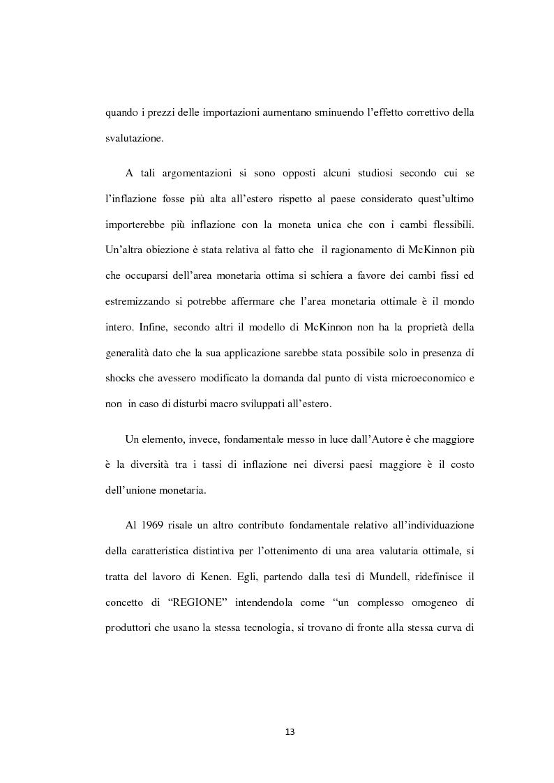 Anteprima della tesi: Costi e Benefici di una Valuta Internazionale, Pagina 9