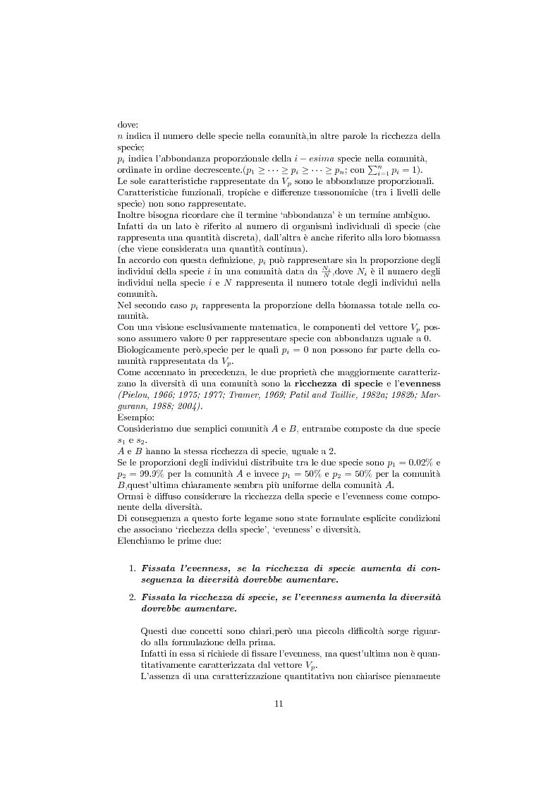 Anteprima della tesi: Studio della biodiversità: il caso delle alghe rilevate dalla struttura oceanograca Daphne., Pagina 6