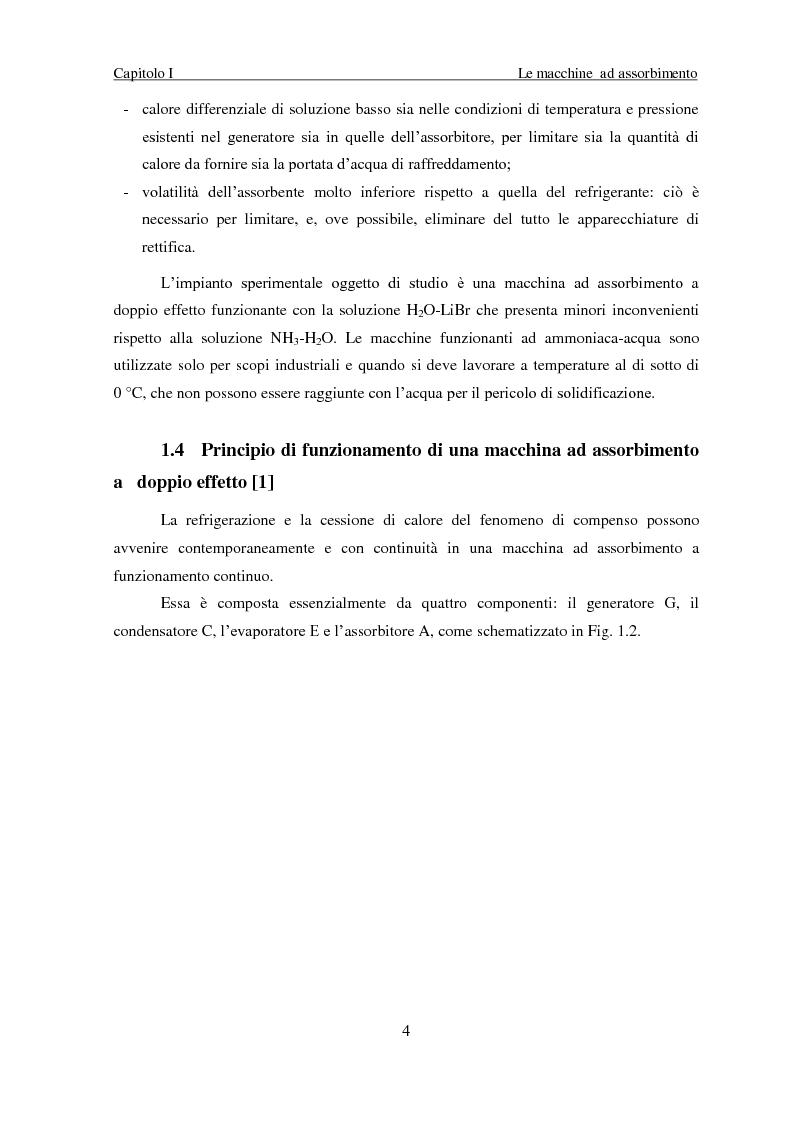 Anteprima della tesi: Messa a punto di un sistema di acquisizione dati per la valutazione delle prestazioni di una macchina ad assorbimento, Pagina 7