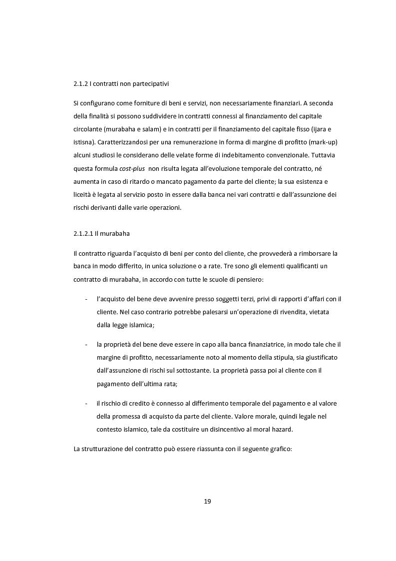 Anteprima della tesi: Lo sviluppo della banca islamica nei sistemi finanziari convenzionali, Pagina 14