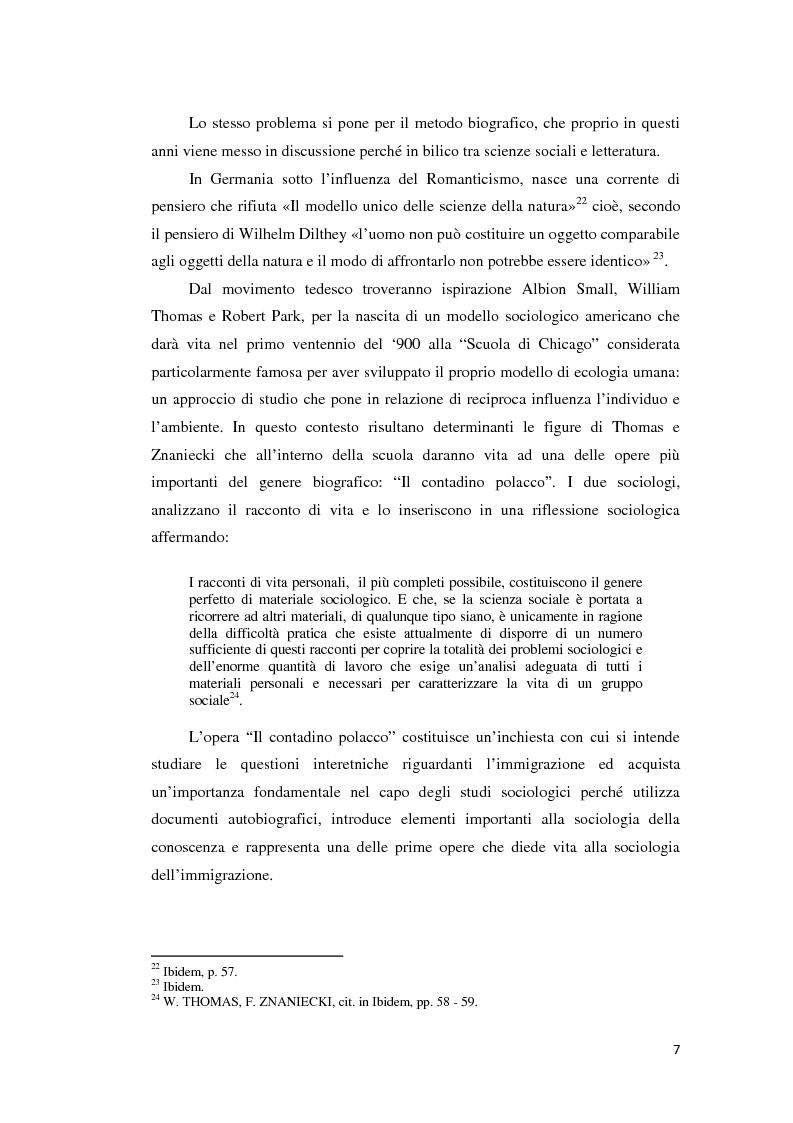 Anteprima della tesi: Gli emigranti salentini nella provincia di Buenos Aires: storie di vita e generazioni a confronto., Pagina 8