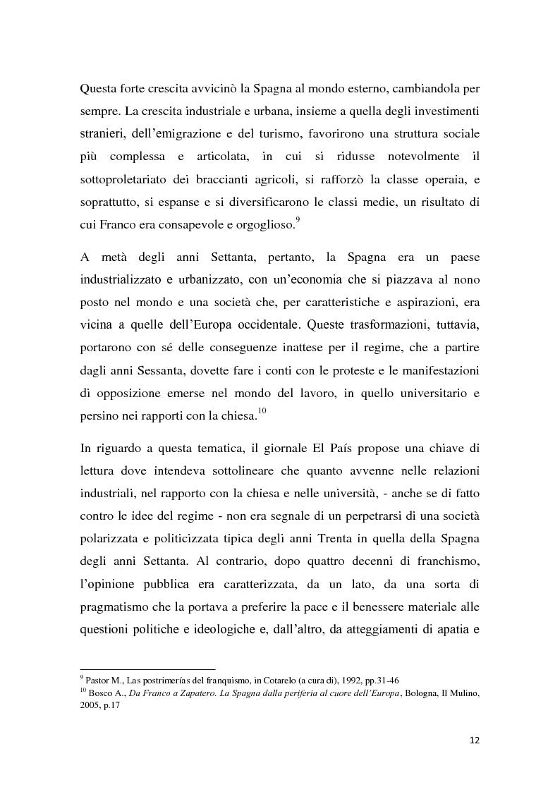 Anteprima della tesi: Caratteri e dinamiche dello sviluppo economico spagnolo dopo Franco attraverso El Pais, Pagina 10