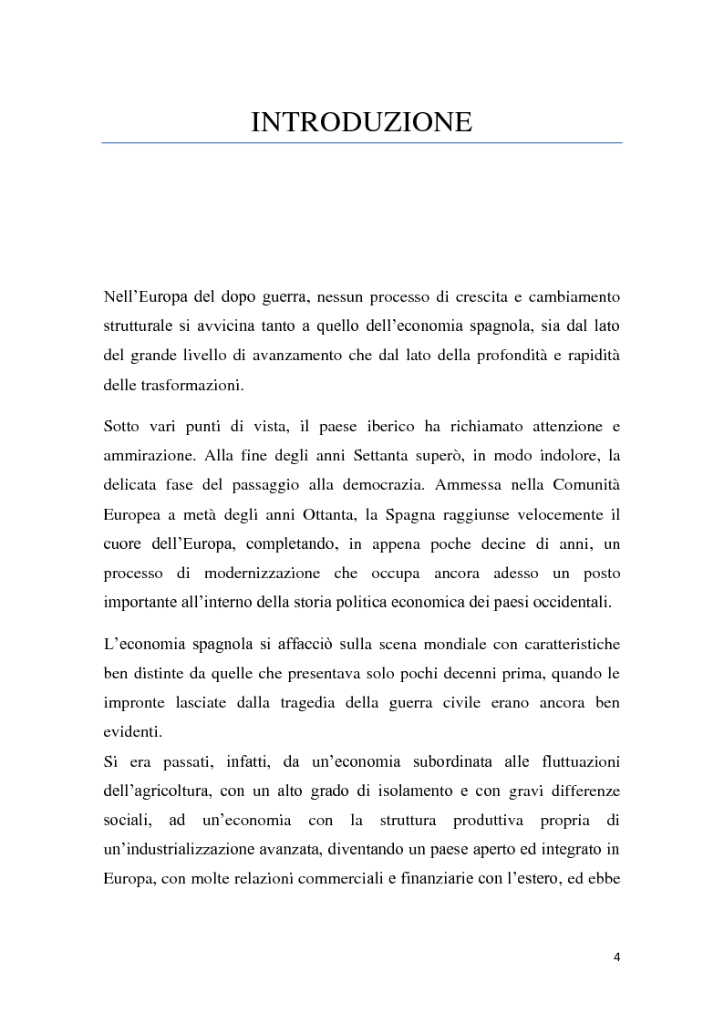 Anteprima della tesi: Caratteri e dinamiche dello sviluppo economico spagnolo dopo Franco attraverso El Pais, Pagina 2