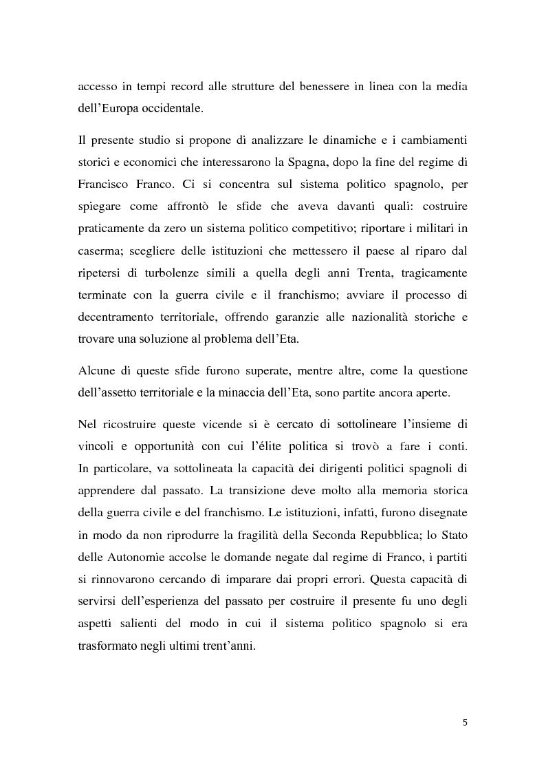 Anteprima della tesi: Caratteri e dinamiche dello sviluppo economico spagnolo dopo Franco attraverso El Pais, Pagina 3