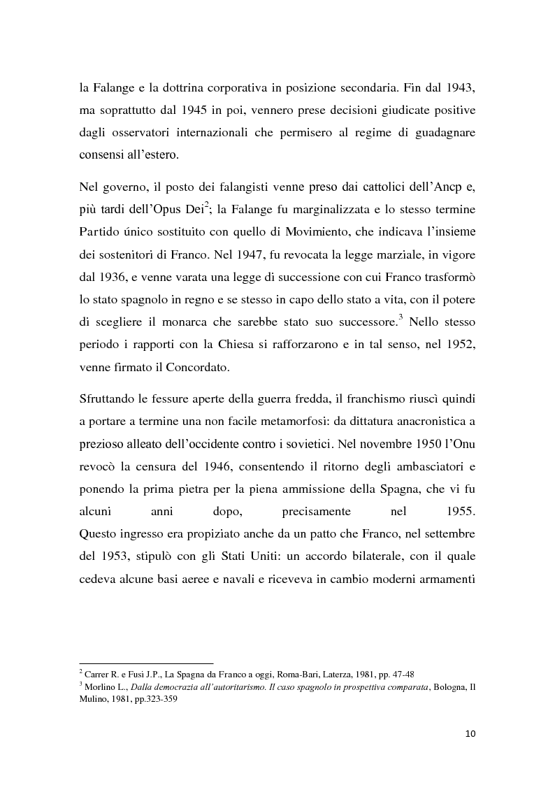 Anteprima della tesi: Caratteri e dinamiche dello sviluppo economico spagnolo dopo Franco attraverso El Pais, Pagina 8