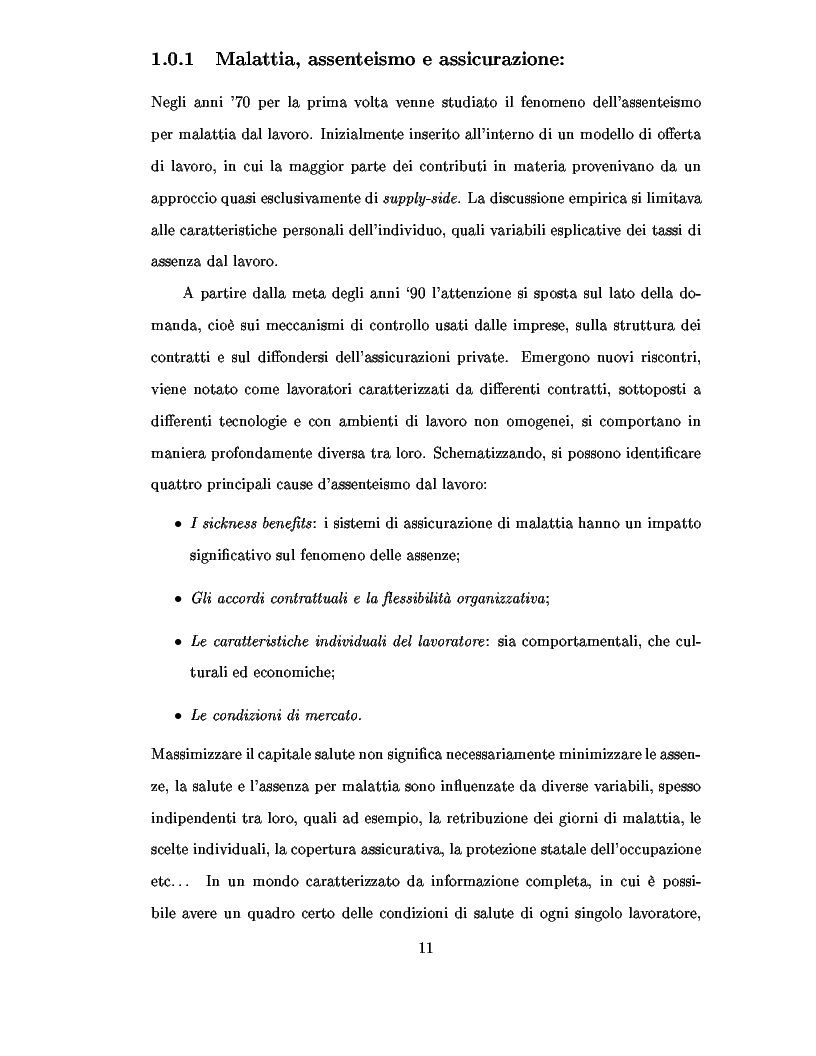 Anteprima della tesi: Metodi d'ottimizzazione Stocastica d'Assicurazione Sanitaria Processi di Levy, Pagina 5