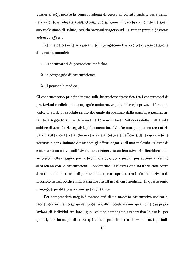 Anteprima della tesi: Metodi d'ottimizzazione Stocastica d'Assicurazione Sanitaria Processi di Levy, Pagina 9