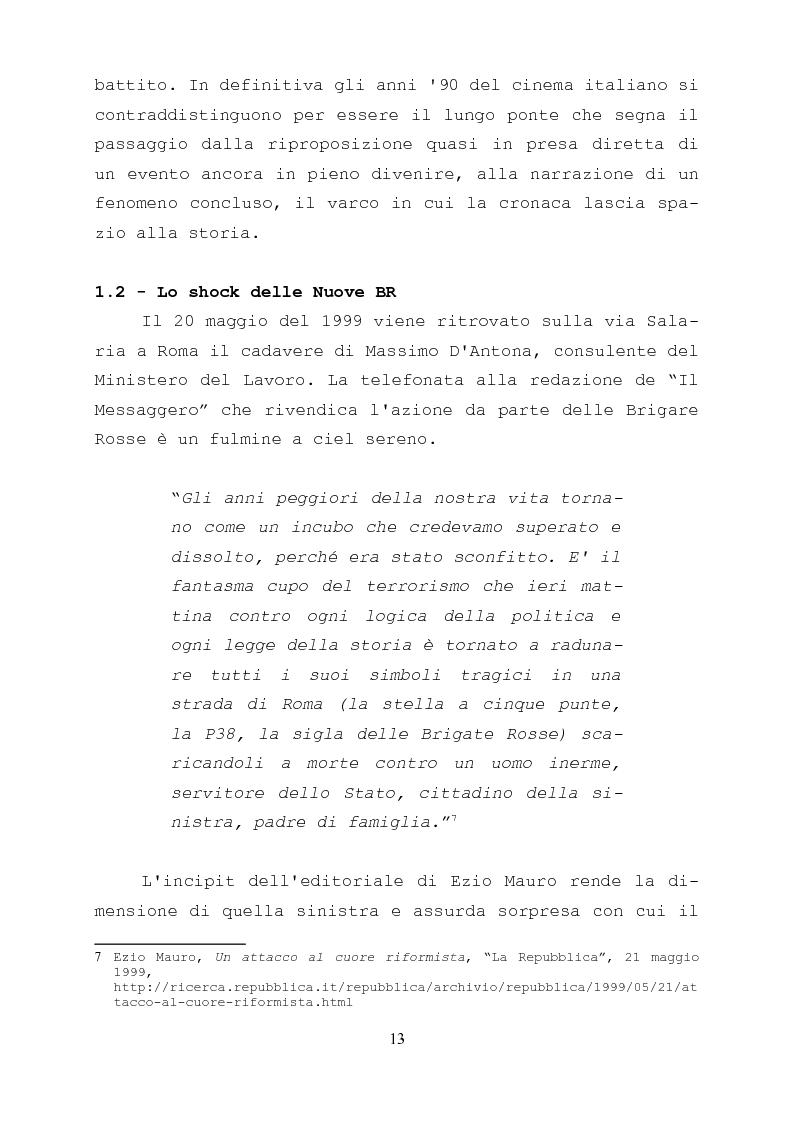 Anteprima della tesi: Gli anni di piombo visti da qui: rappresentazione e riconciliazione nel cinema italiano del terzo millennio, Pagina 11