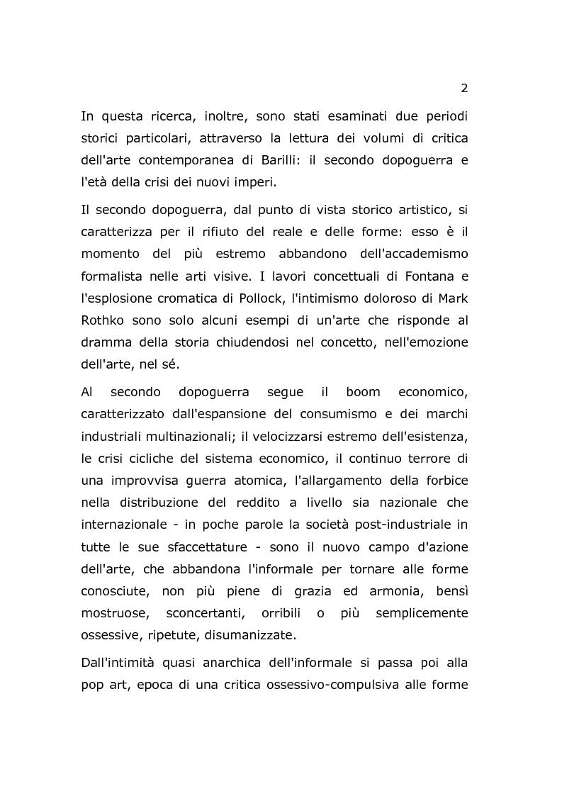 Anteprima della tesi: Arte e Società, Pagina 3