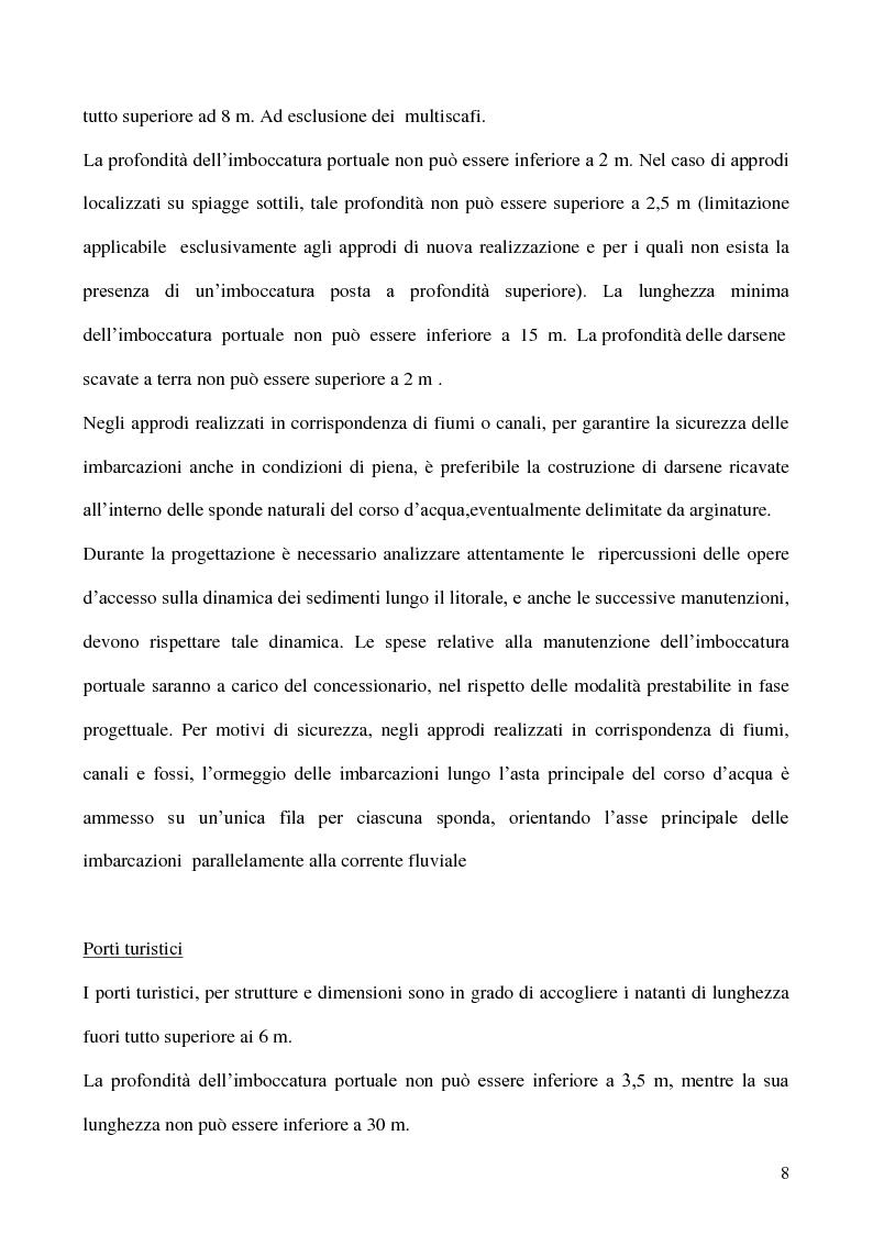 Anteprima della tesi: Due realtà del turismo nautico siciliano a confronto: il ''Porto dell'Etna'' e il ''Marina di Portorosa'', Pagina 5
