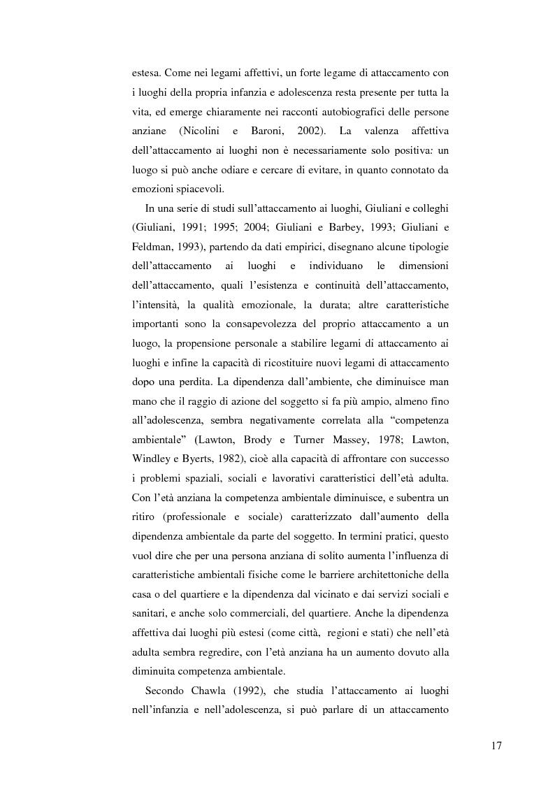 Anteprima della tesi: Il ruolo dell'ambiente fisico nel comportamento del bambino al nido, Pagina 10