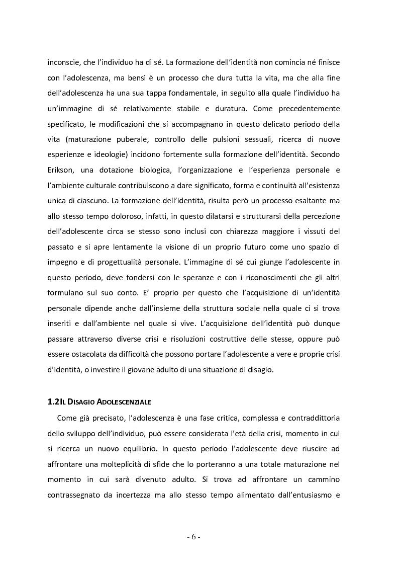 Anteprima della tesi: Il ruolo del gruppo dei pari come moderatore della devianza in adolescenza. Uno studio italiano all'interno del progetto SLAP, Pagina 7