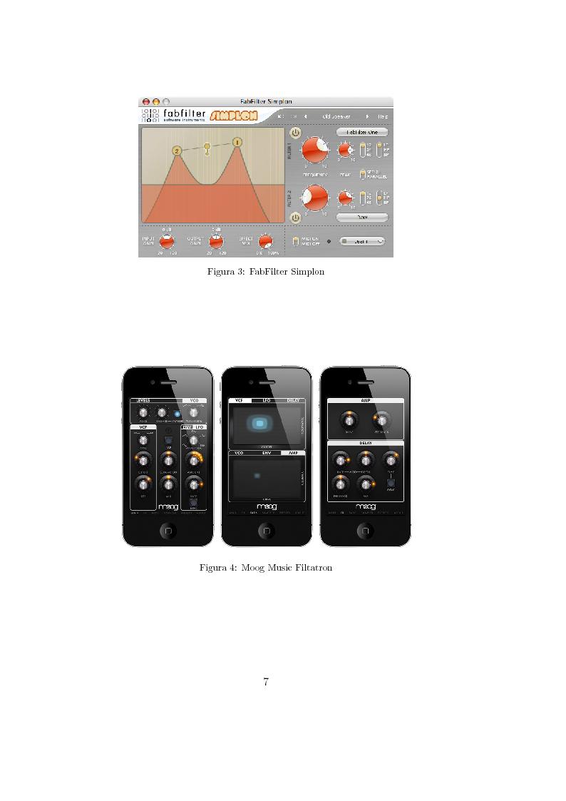 Anteprima della tesi: Realizzazioni digitali del filtro di Moog. Comparazioni e valutazioni architetturali., Pagina 6