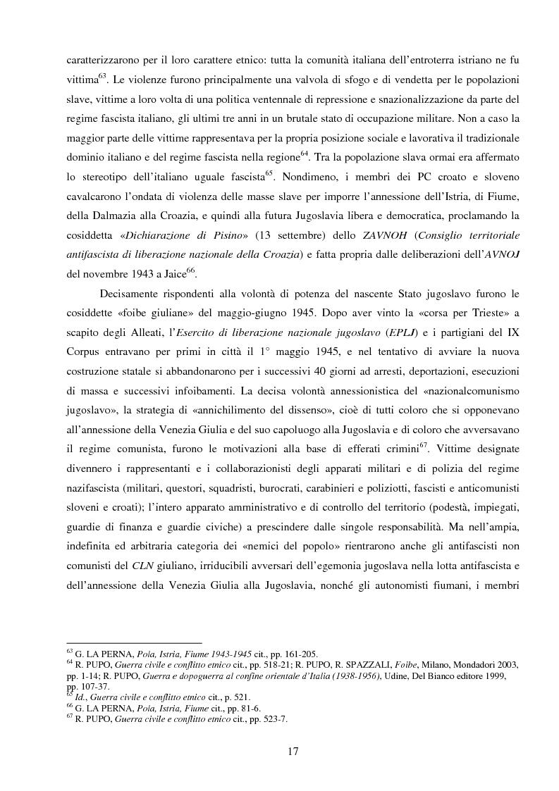 Anteprima della tesi: La Jugoslavia dal 1941 al 2000: tra esodi, scontri etnici e movimenti di popolazione, Pagina 14