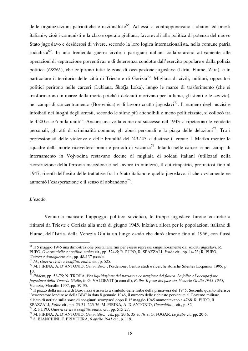 Anteprima della tesi: La Jugoslavia dal 1941 al 2000: tra esodi, scontri etnici e movimenti di popolazione, Pagina 15