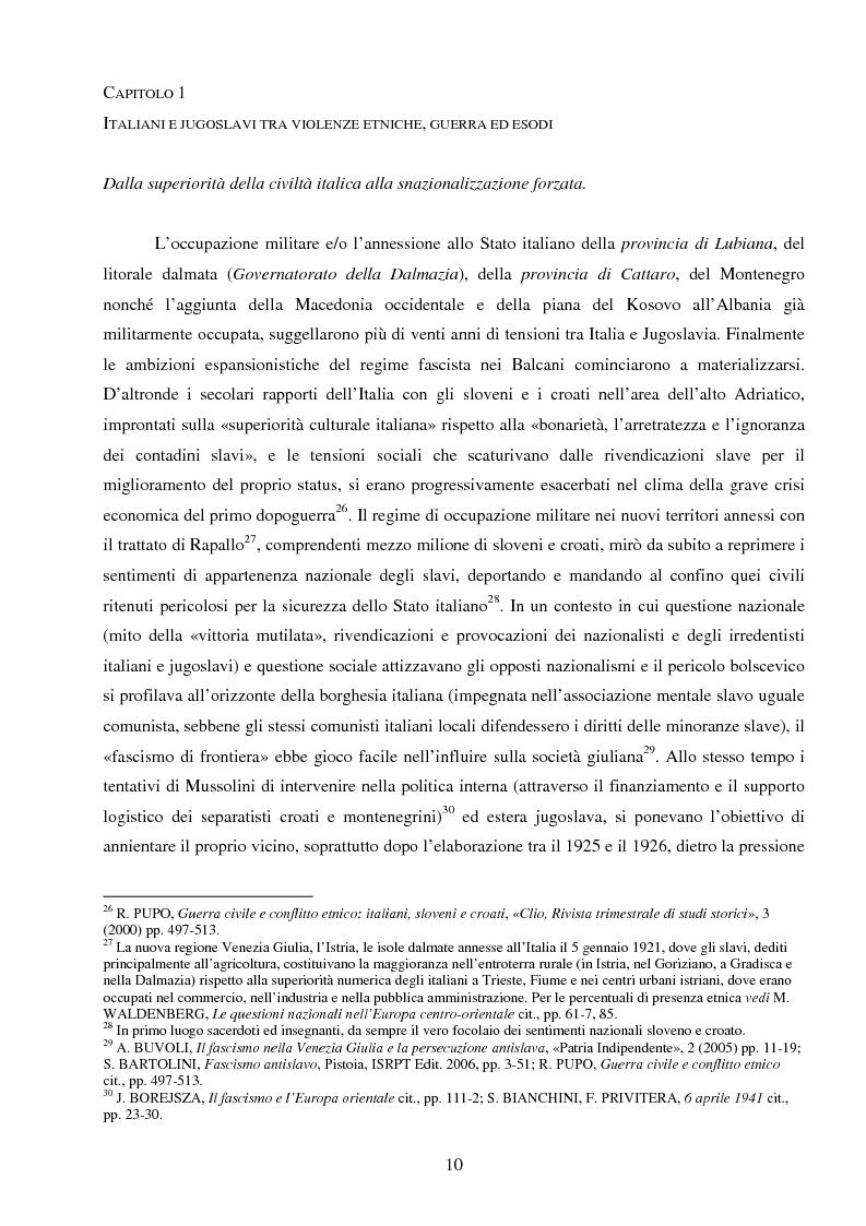 Anteprima della tesi: La Jugoslavia dal 1941 al 2000: tra esodi, scontri etnici e movimenti di popolazione, Pagina 7