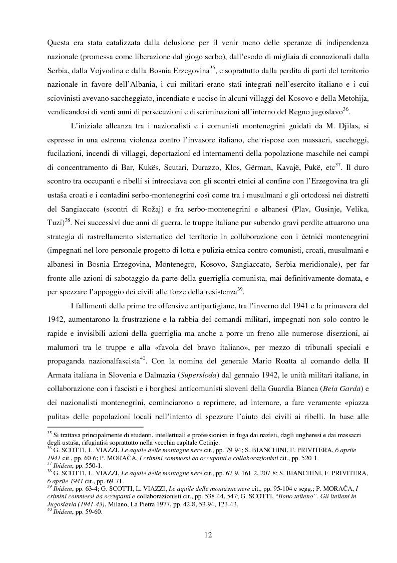 Anteprima della tesi: La Jugoslavia dal 1941 al 2000: tra esodi, scontri etnici e movimenti di popolazione, Pagina 9