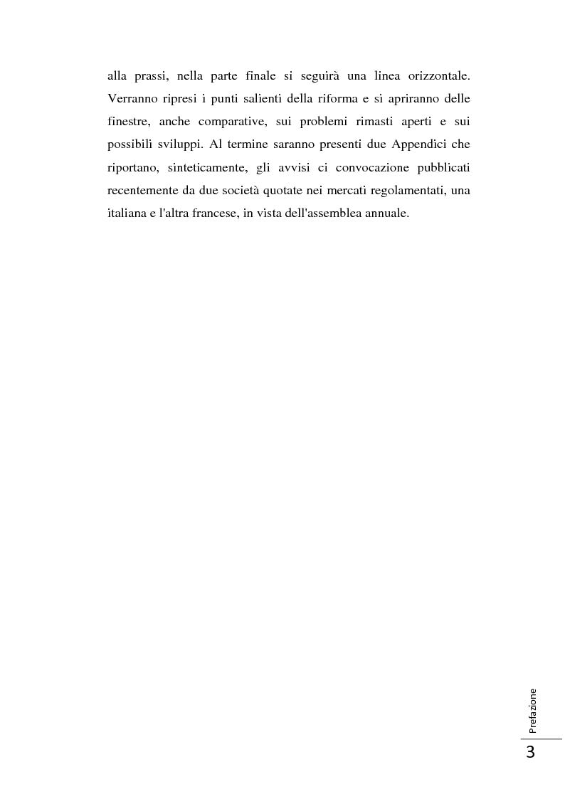 Anteprima della tesi: La Direttiva 2007/36/CE: un provvedimento contro l'apatia razionale dei mercati europei. Attuazione in Italia e in Francia., Pagina 4