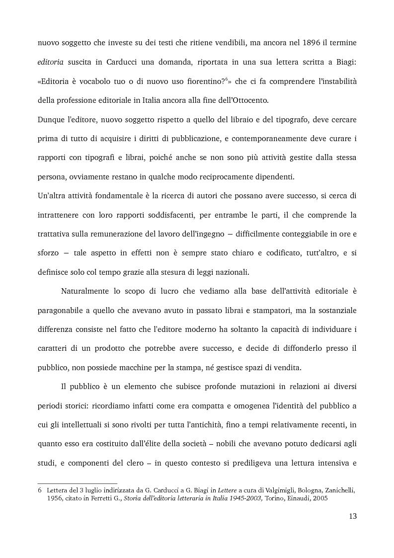 Anteprima della tesi: Specificità e posizionamento di editori di nicchia, Pagina 11