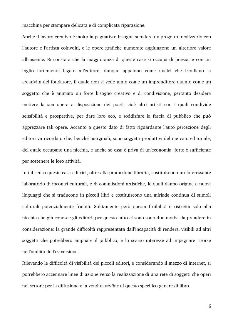 Anteprima della tesi: Specificità e posizionamento di editori di nicchia, Pagina 4