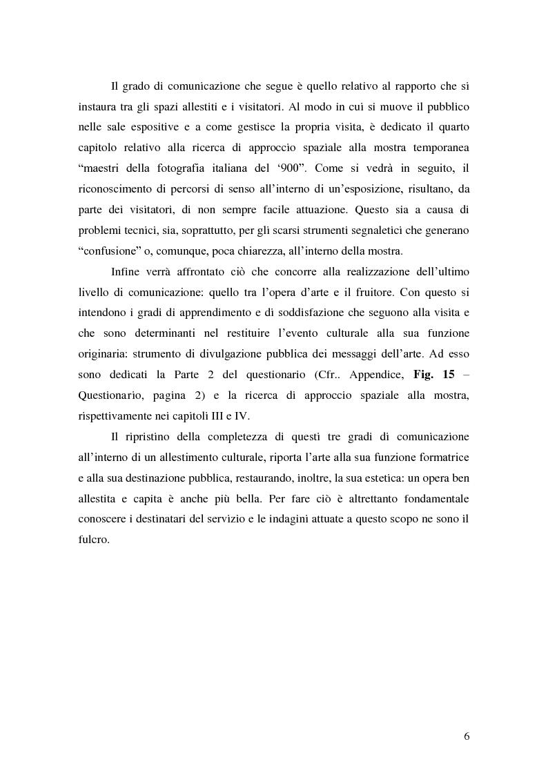 Anteprima della tesi: Il Pubblico del Castello dei Pico. Indagine sui Visitatori del Centro Espositivo della Mirandola, Pagina 3