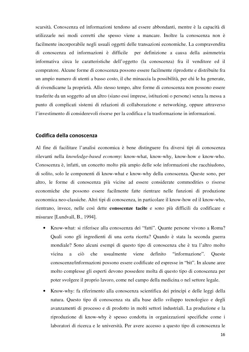 Anteprima della tesi: Verso la definizione di un nuovo modello di trasferimento tecnologico per le Università Italiane: dalla gestione dell'IPR al Marketing della Ricerca. Esperienze a confronto, Pagina 10