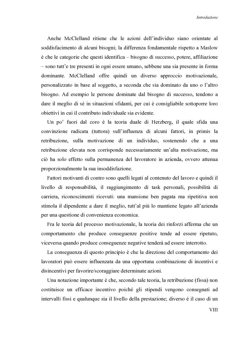 Anteprima della tesi: Le nuove frontiere nella motivazione delle risorse umane: il progetto People Care nel caso Nokia-Eudaimon, Pagina 5