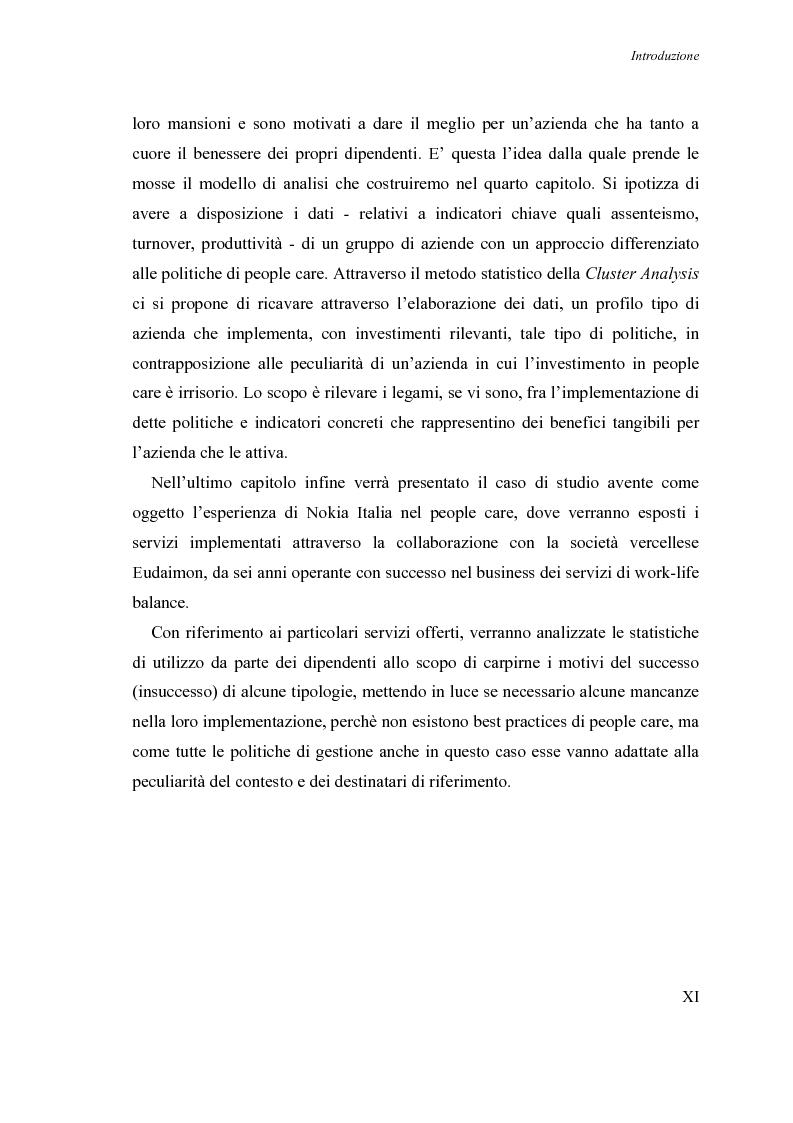 Anteprima della tesi: Le nuove frontiere nella motivazione delle risorse umane: il progetto People Care nel caso Nokia-Eudaimon, Pagina 8