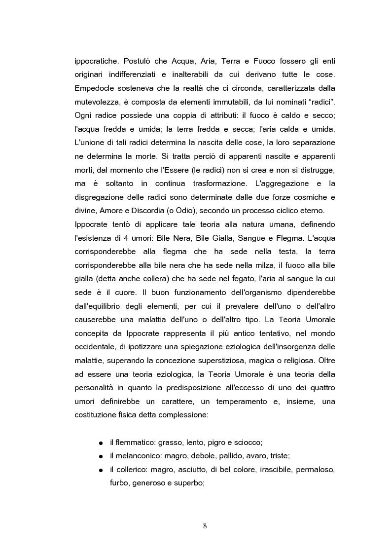 Anteprima della tesi: Temperamento e personalità nell'adulto. Proprietà psicometriche dell'Adult Temperament Questionnaire (ATQ), Pagina 5