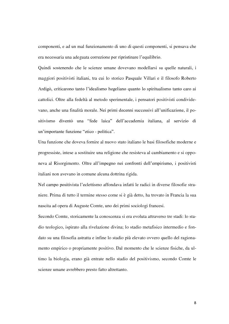 Anteprima della tesi: Da Lombroso ai giorni nostri: un profilo criminologico, Pagina 8