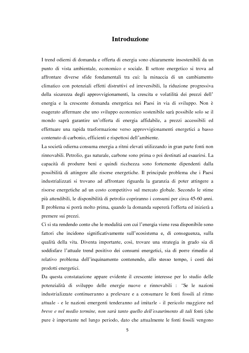 Anteprima della tesi: Biogas: tecnologie, incentivi, redditività ed impatto territoriale., Pagina 2