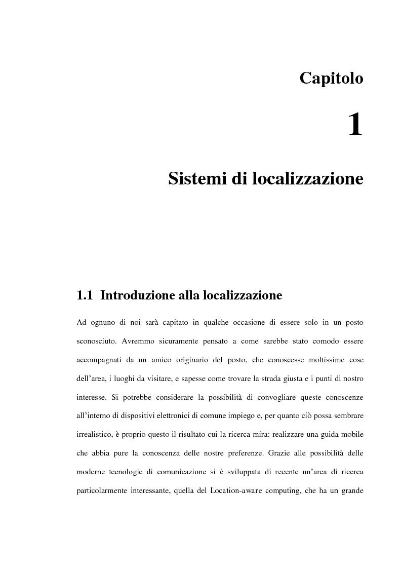 Anteprima della tesi: Localizzazione wireless in ambienti indoor per assistenza al parcheggio. Architettura di servizio e caratterizzazione statistica dell'ambiente elettromagnetico., Pagina 2