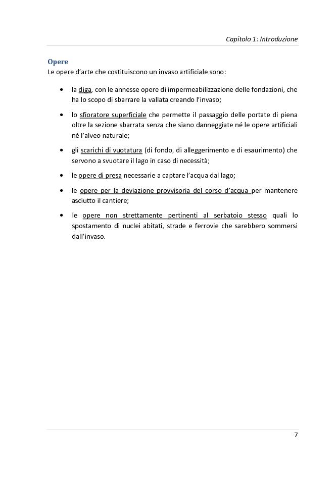 Anteprima della tesi: Progetto di una diga a gravità massiccia sul fiume Tevere, Pagina 4