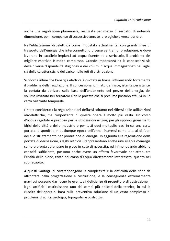 Anteprima della tesi: Progetto di una diga a gravità massiccia sul fiume Tevere, Pagina 8