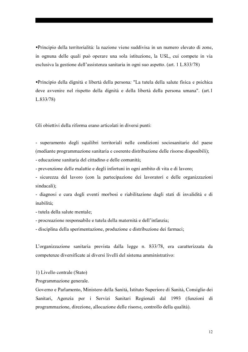 Anteprima della tesi: I servizi sociali: caratteri e profilo giuridico, Pagina 9
