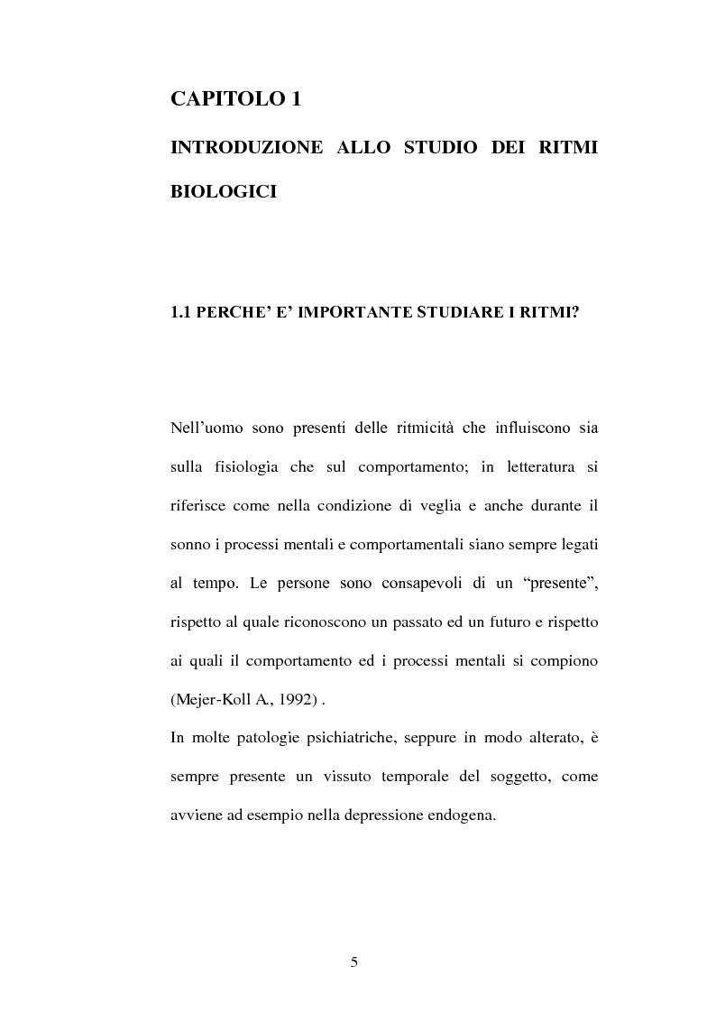 Anteprima della tesi: Ritmi ultradiani e attenzione sostenuta in compiti in modalità visiva, Pagina 2
