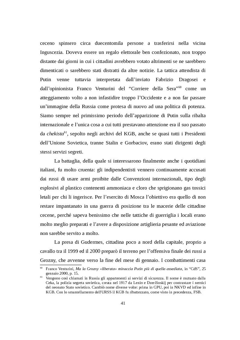 Anteprima della tesi: La Russia di Putin attraverso la stampa italiana (2000 - 2007), Pagina 12