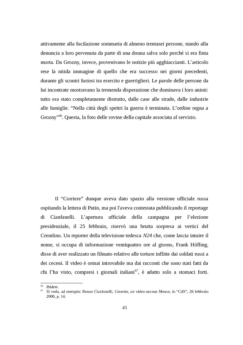Anteprima della tesi: La Russia di Putin attraverso la stampa italiana (2000 - 2007), Pagina 14
