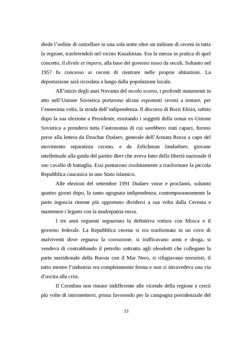 Anteprima della tesi: La Russia di Putin attraverso la stampa italiana (2000 - 2007), Pagina 4