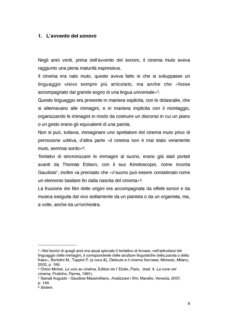 Anteprima della tesi: Il rumore nei film di Roman Polanski, Pagina 2