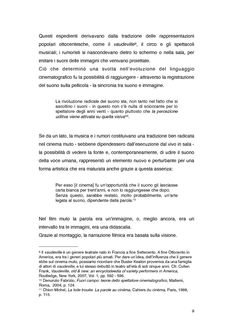 Anteprima della tesi: Il rumore nei film di Roman Polanski, Pagina 3