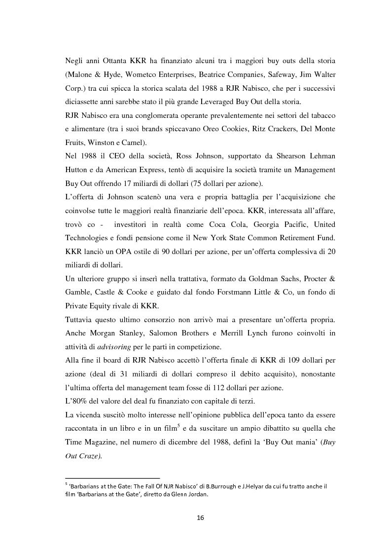 Anteprima della tesi: Il Leveraged Buy Out nelle Operazioni di Private Equity - Un'indagine sul mercato spagnolo, Pagina 10