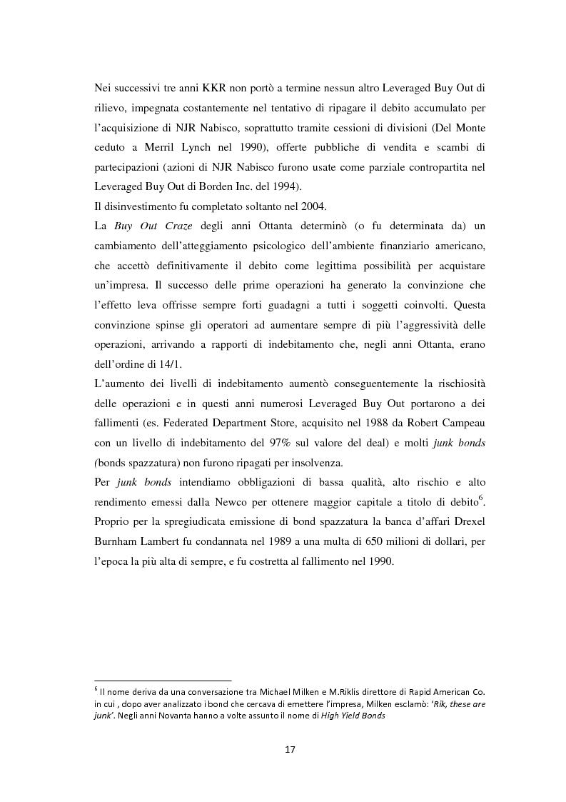 Anteprima della tesi: Il Leveraged Buy Out nelle Operazioni di Private Equity - Un'indagine sul mercato spagnolo, Pagina 11