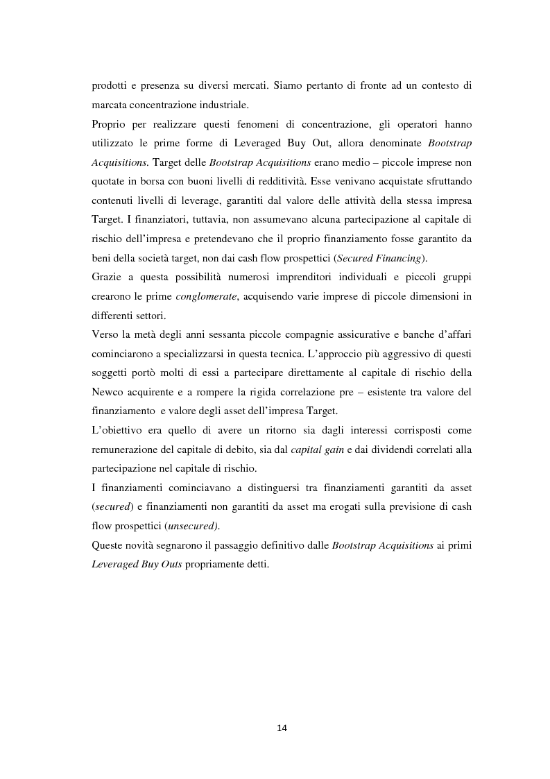 Anteprima della tesi: Il Leveraged Buy Out nelle Operazioni di Private Equity - Un'indagine sul mercato spagnolo, Pagina 8